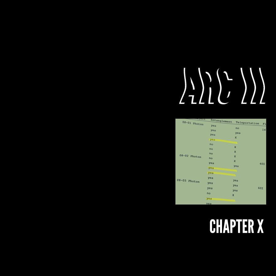 Arc III – Chapter X